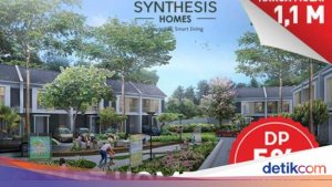 Smart Home 2 Lantai Dekat MRT Lebak Bulus, DP 5