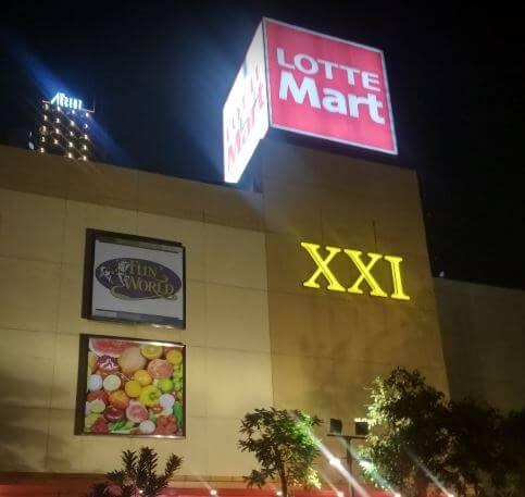 Cinema XXI Lotte Mall bintaro